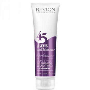Revlon Professional RCC Shampoo&Conditioner Ice Blondes - Шампунь-кондиционер для пепельных блондированных оттенков (275 мл.)