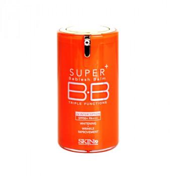 "Skin 79 Super Plus Beblesh Balm Triple Functions SPF50+ Pa+++  - ББ крем для лица ""Витал оранж"" (40гр.)"
