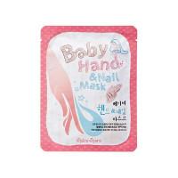 Shara Shara Baby Hand & Nail Mask - Увлажаняющая маска-перчатка для рук и ногтей (4 мл*2)