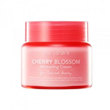 Shara Shara Cherry Blossom Whitening Cream - Увлажняющий осветляющий крем с экстрактом цветов вишни (55мл.)