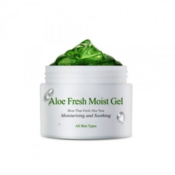 The Skin House Aloe Fresh Moist Gel Крем-гель для лица с экстрактом алоэ (для нормальной или сухой кожи) 50мл.