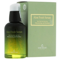 The Skin House Aloe Fresh Serum  - Увлажняющая и успокаивающая сыворотка с экстрактом алоэ (50мл.)