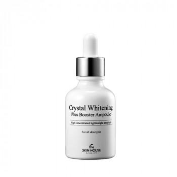 The Skin House Crystal Whitening Plus Booster Ampoule - Концентрированная ампульная сыворотка «Кристал Уайт» (30мл.)