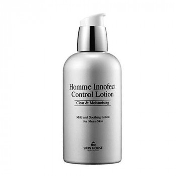 The Skin House Homme Innofect Control Lotion - Мужской увлажняющий и матирующий лосьон (130мл.)