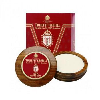 Truefitt and Hill 1805 Luxury Shaving Soap in wooden bowl - 1805 Люкс-мыло для бритья (в деревянной чаше) 99гр.
