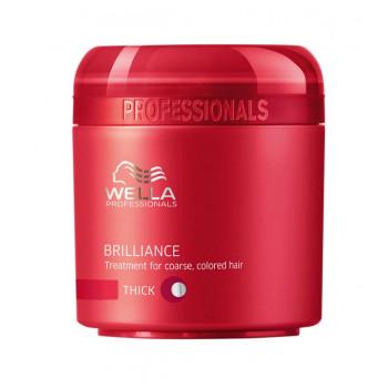 Wella Pr. Brilliance mask coarse Крем-маска для окрашенных жестких волос(500 мл.)