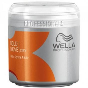 Wella Styling DRY Паста для стайлинга с матовым эффектом Bold Move(150мл.)
