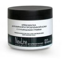 Кора - Крем-маска для жирной и проблемной кожи с сульфидными грязями (300мл.)