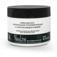 Кора - Крем-маска питательная тонизирующая с сапропелевыми грязями (300мл.)